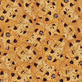 Chocolate Chip Cookies by Christy Stanford - Food & Drink Cooking & Baking ( many, abstract, chocolate, sweet, baking, cookies, treat, dessert )