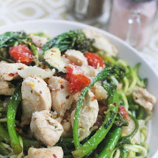 Garlic Chicken Primavera Recipes