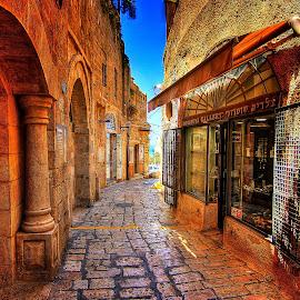 yaffo by Abu  Janjalani Abdullah - City,  Street & Park  Markets & Shops ( roads, transportation )