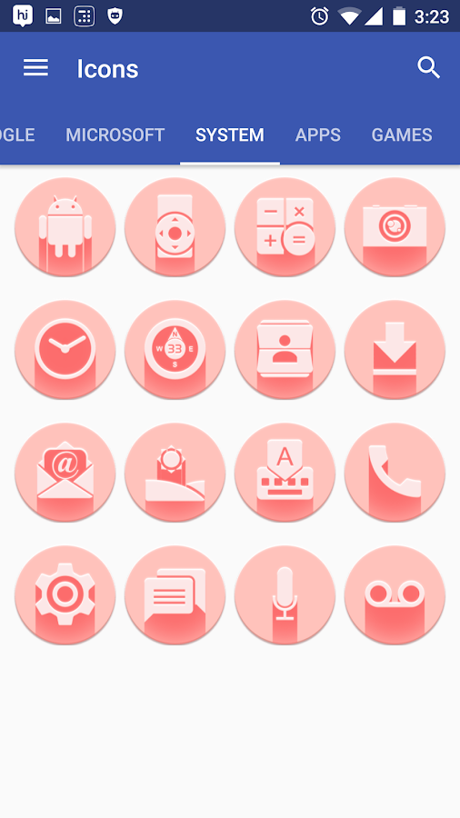 Pink Multilauncher Icon Pack Screenshot 9