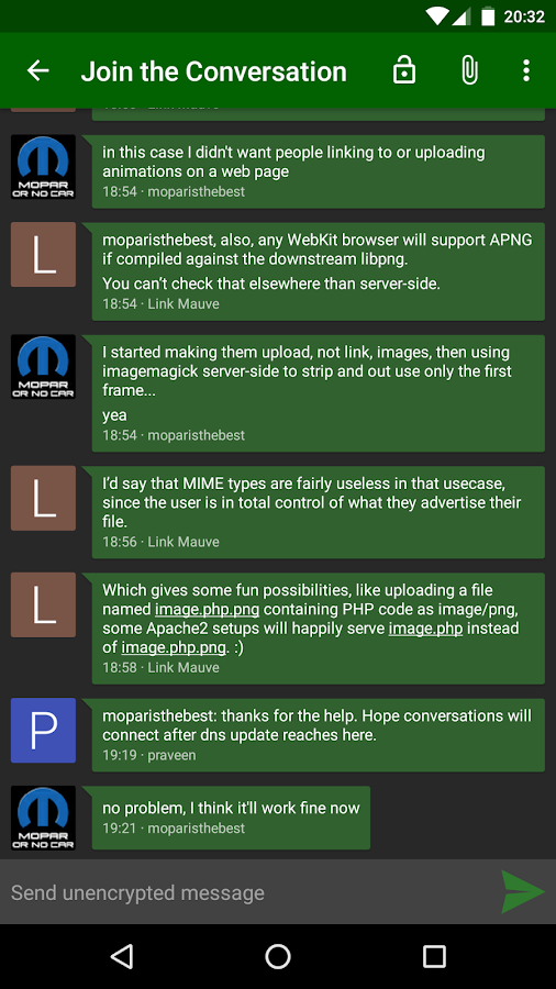 Conversations (Jabber / XMPP) Screenshot 3