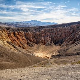 Ubehebe Crater by Vinod Kalathil - Landscapes Mountains & Hills ( death valley, desert, california, us national parks, landscape, united states )