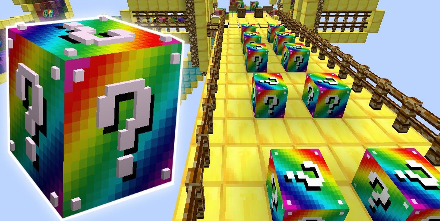 MyCraft Lucky Block Android Spiele Download - Minecraft block spielen
