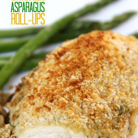 Chicken Asparagus Roll-Ups Recipe | Yummly