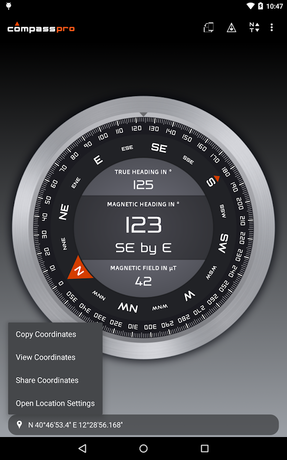 Compass Pro Screenshot 14
