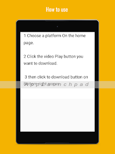 Free Video Downloader APK for Windows 8