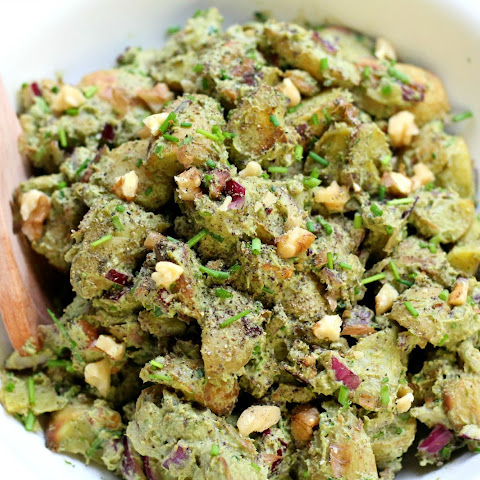 10 Best Vegan Pesto Potato Salad | Sweet Potato, Pesto ...