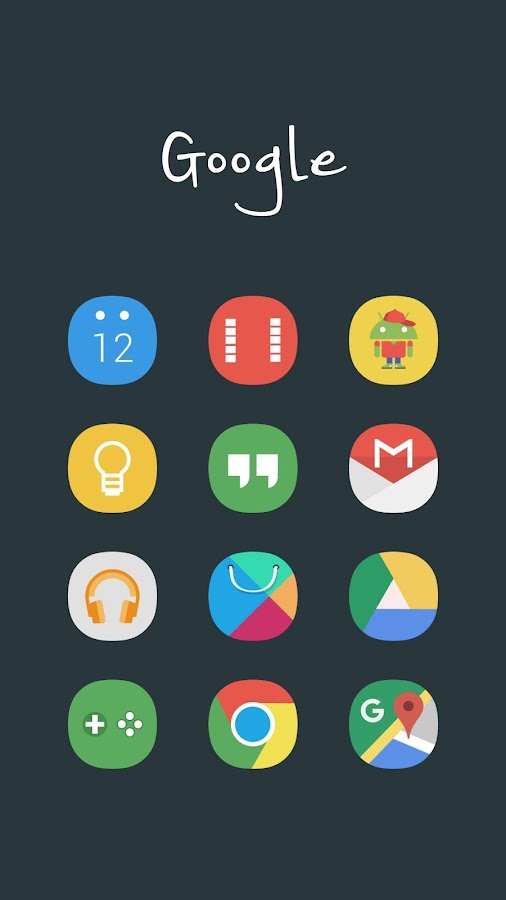 Aerus MultiLauncher Icon Theme Screenshot 4