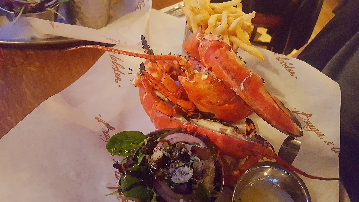 The £40 Lobster