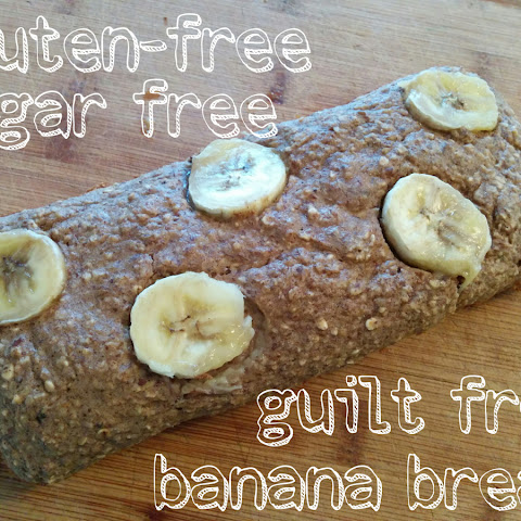 Skinny Gluten Free Banana Bread (sugar Free, Vegan, Clean Eats)