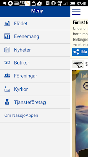 NässjöAppen - screenshot