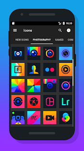 Ontrax - Icon Pack android apps download