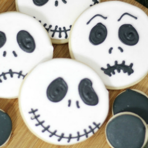 Jack Skellington Cookies