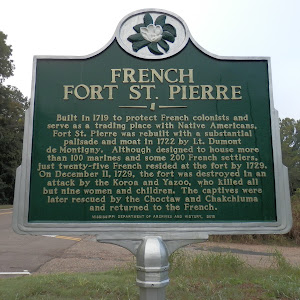 Built in 1719 to protect French colonists and serve as a trading place with Native Americans, Fort St. Pierre was rebuilt with a substantial palisade and moat in 1722 by Lt. Dumont de Montigny. ...