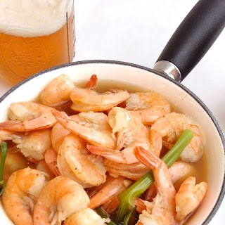 Beer-Boiled Shrimp