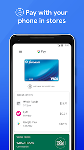 Google Pay: Pay with your phone and send cash for pc