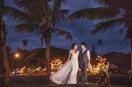 First Landing Beach Resort and Villas newlyweds