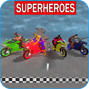 Download Superheroes Downhill Race For PC Windows and Mac