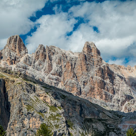 by Mario Horvat - Landscapes Mountains & Hills ( mountains, sky, high, travel, dolomites, landscape, hiking )