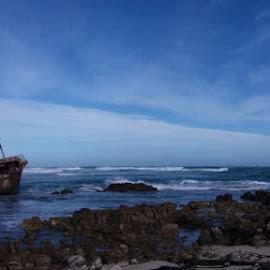 Wreck by Moira Hanekom - Landscapes Beaches