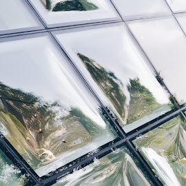 Prada glass by Valentina Cantera - Buildings & Architecture Other Exteriors ( diamonds, glass, prada, omotesando, japan, asia, facade, tokyo, diamond, japanese, architectural detail, hezog & de meuron, glass art, architectural, architecture )