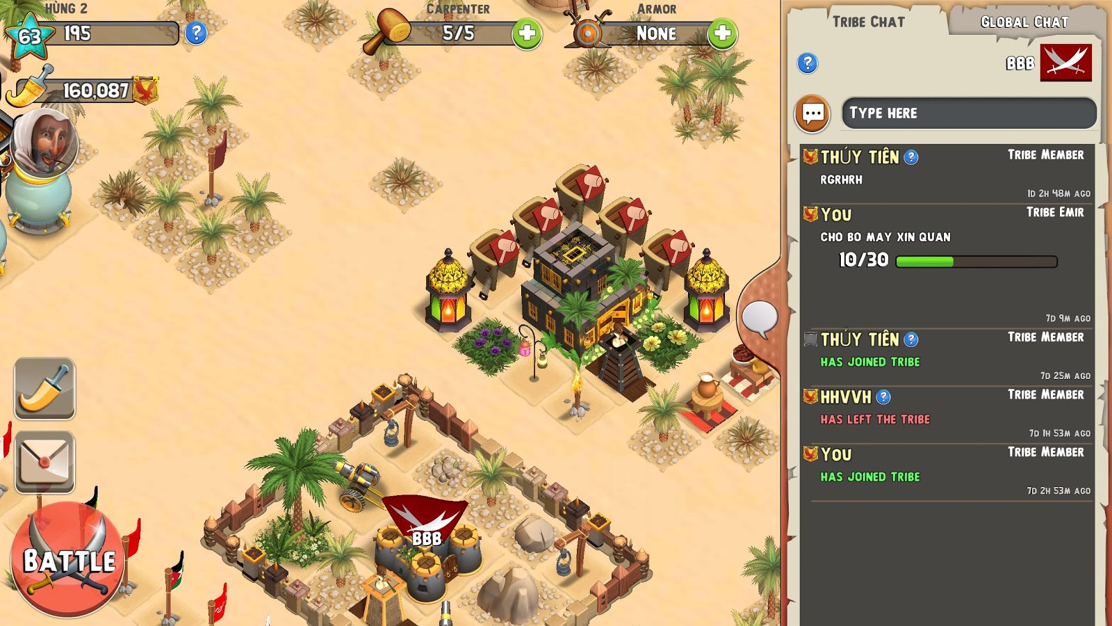 Tribal Rivals Screenshot 17