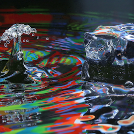 Splash by Michael Schwartz - Abstract Water Drops & Splashes