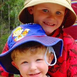 boys by Donna Racheal - Babies & Children Child Portraits ( kids up close, boys, two boys, children, children candids,  )