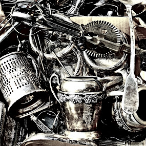 Chrome in a box by Martin Stepalavich - Artistic Objects Cups, Plates & Utensils (  )