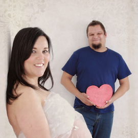 by Elna Fourie - People Maternity ( jean, heart, mother, salome, pregnancy, boy, father )