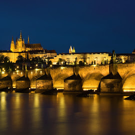 Prague Charles Bridge by Kwoh LK - Buildings & Architecture Bridges & Suspended Structures