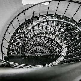by Jackie Eatinger - Black & White Buildings & Architecture (  )