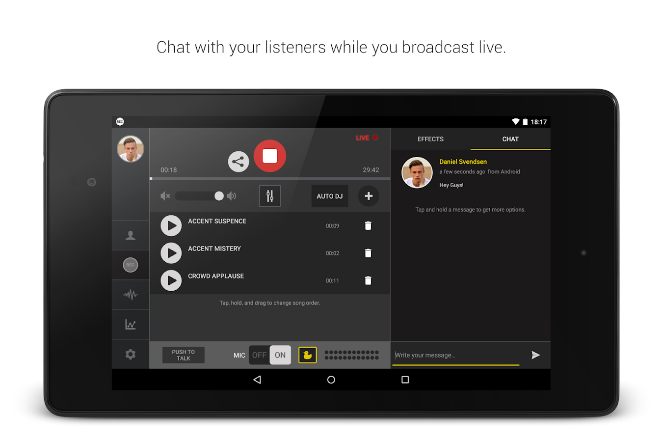 Spreaker Studio Screenshot 10