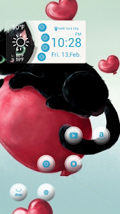 Balloon floating in a small bl - screenshot