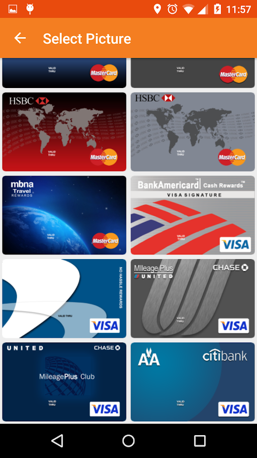MyCard lite Screenshot 2