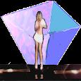 Real Girls Hologram Projector