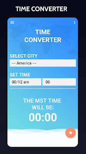 MST Time, Mountain Standard - screenshot