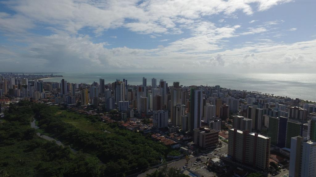 Apartamento com 3 dormitórios à venda, 107 m² por R$ 871.007 - Miramar - João Pessoa/PB