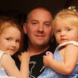 Father & Daughters by Cheryl Korotky - People Family