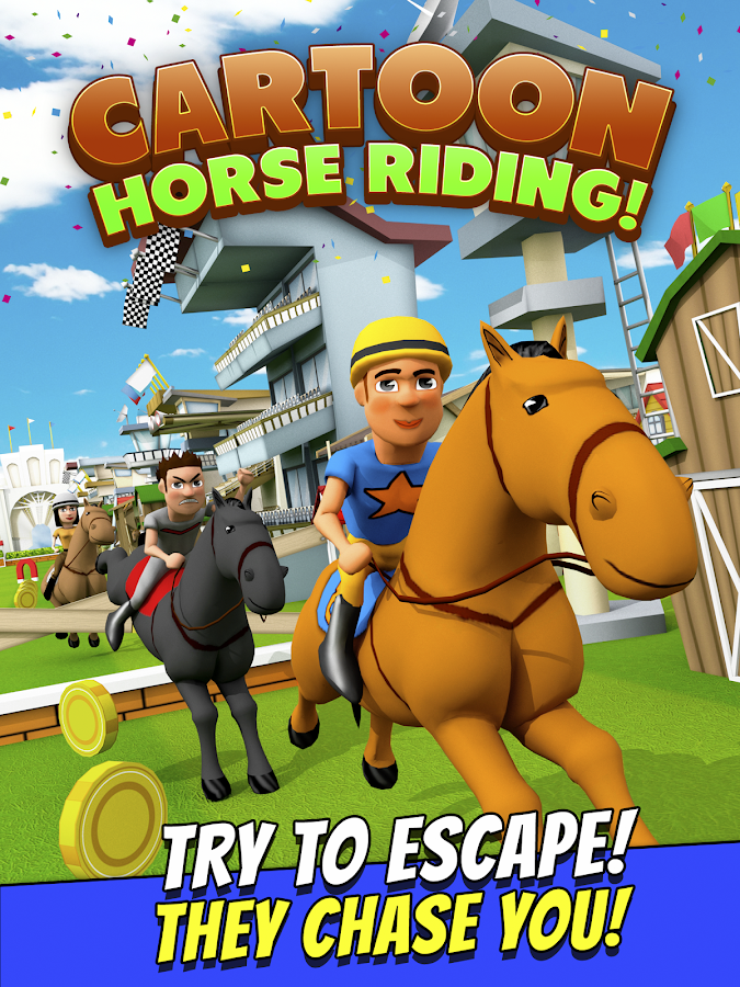 Cartoon Horse Riding Game Free Screenshot 4