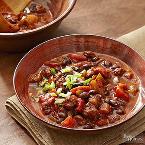 Spicy Black Bean Chili Beef Recipes Yummly