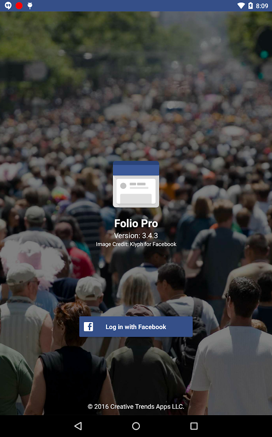 Folio Pro for Facebook Screenshot 7