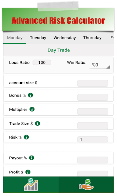 Binary Options Risk Manager Screenshot 4