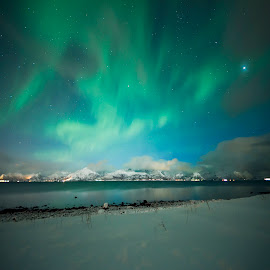Night by Jens Andre Mehammer Birkeland - Instagram & Mobile Other ( instagram, winter, aurora borealis, northern lights, night )