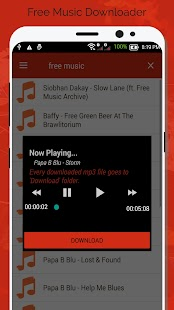 Free Music Downloader - Mp3 Download for pc