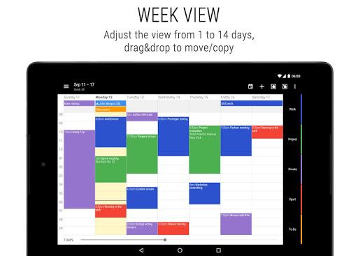 Business Calendar 2 screenshot 10