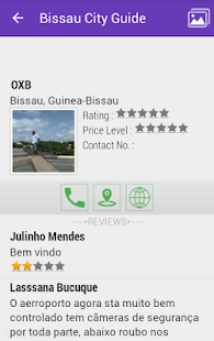 Bissau City Guide - screenshot