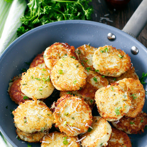 Potato Parmesan Cakes