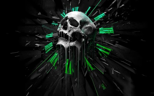 Skull Live Wallpaper - screenshot