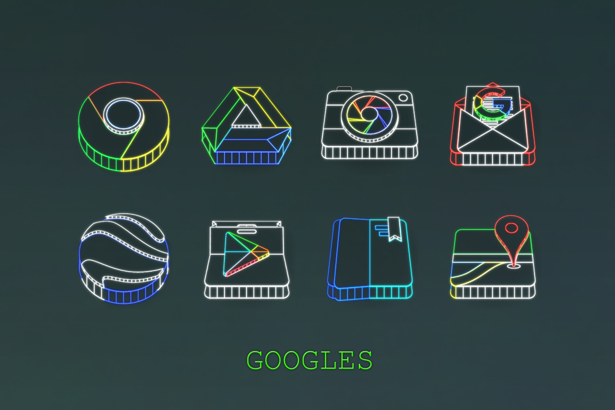 Wireframe 3D Icon Pack Screenshot 6
